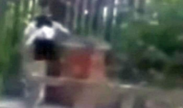 Cheating husband caught having sex in the street! (Watch video)