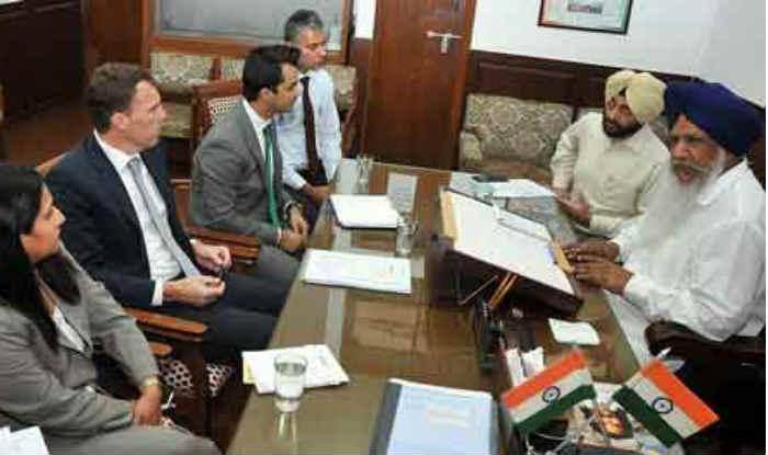 Australian delegation meets Punjab minister Gulzar Singh Ranike