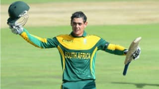 India vs South Africa 3rd ODI: Quinton de Kock shines as hosts choke in hot Rajkot chase