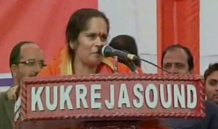 Sadhvi Prachi: What happened in Dadri was right, why did Iqlakh eat beef!
