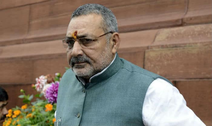 Union Minister Giriraj Singh Stokes Controversy, Compares Opposition Parties to Osama Bin Laden