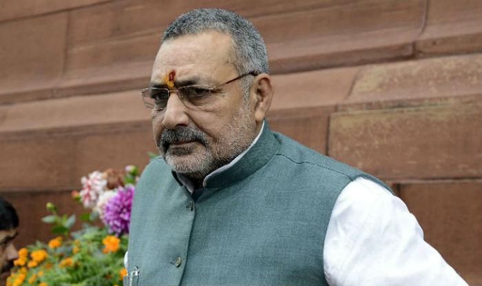 Union Minister Giriraj Singh Stokes Controversy, Says All Muslims Are Descendants of Ram