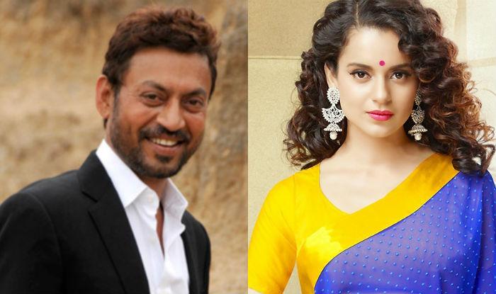 Irrfan Khan, Kangana Ranaut to work together in film on singer Begum Akhtar?