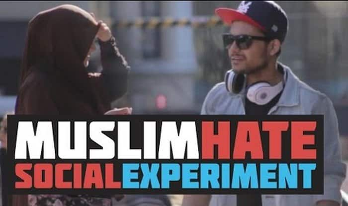 Man inciting hatred towards Muslims shooed away in Australia! (Watch video)