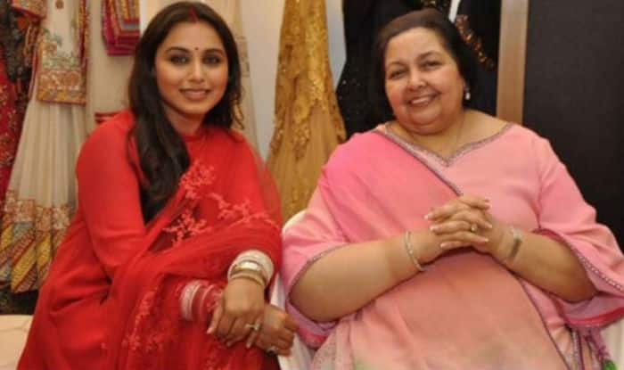 Rani Mukerji's mother-in-law Pamela Chopra speaks on