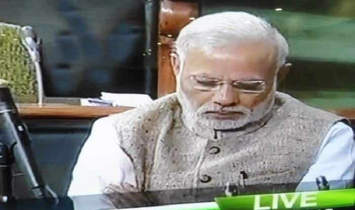 Constitution Day Nap: Narendra Modi caught snoozing in Parliament sets Twitter abuzz! (Watch VIdeo)