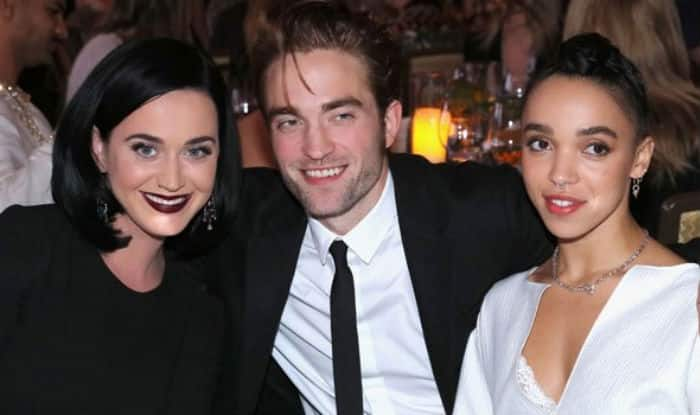 Robert Pattinson and FKA Twigs enjoy date night with Katy Perry