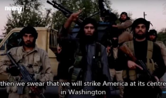 Watch: ISIS video warns of Paris-like attacks in Washington!