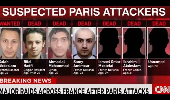 Four suspects placed under arrest linked with Paris, Brussels attacks