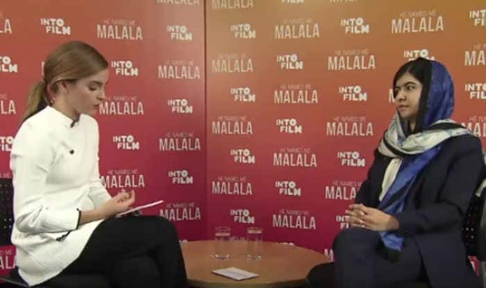 Emma Watson in a tête-à-tête with Malala Yousafzai (Watch full video)