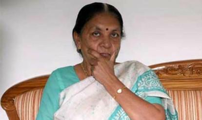 Civic polls underway in Gujarat, Anandiben Patel casts her vote in Ahmedabad