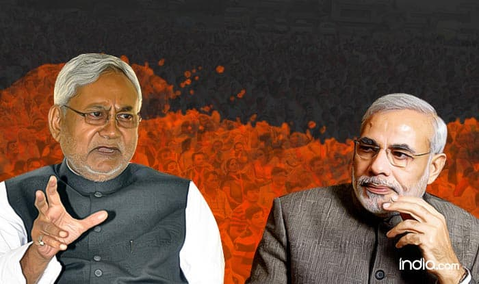 Bihar Assembly Elections Results 2015 trends, leads: BJP+ register lead on 78, JD+ on 47 and Others on 2; BJP workers celebrate