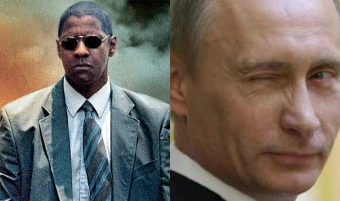 Denzel Washington, not Vladimir Putin wants to send terrorists to God!