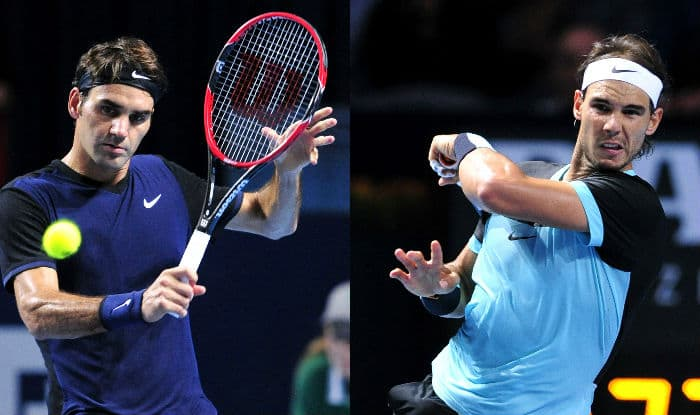 Roger Federer Vs Rafael Nadal Swiss Indoors Basel 2015 Final Free Live Streaming Telecast Of Tennis Match India Com