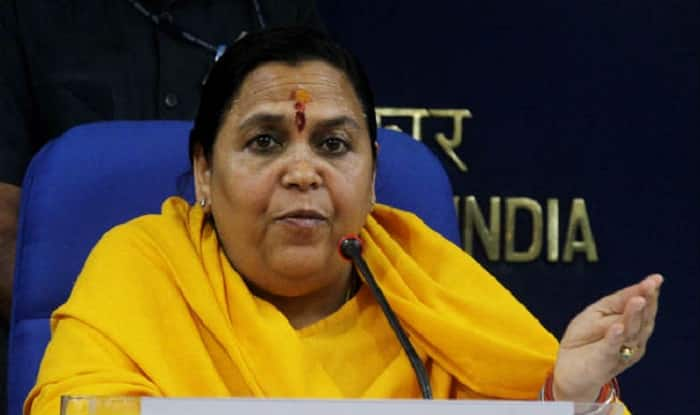 Uma Bharti lauds West Bengal Government work under CAD as masterpiece