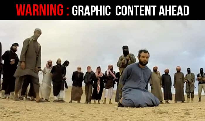 Shocking! ISIS terrorists shoot 3 spies publicly in Syria (Watch