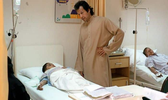 Imran Khan launches second cancer hospital in Pakistan