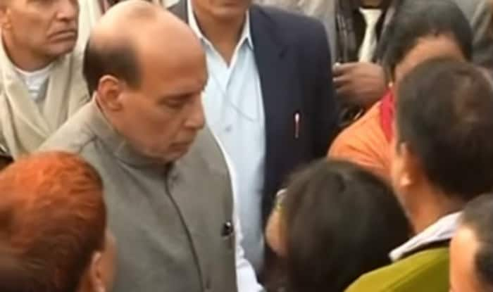 BSF personnel's daughter to Rajnath Singh: Why always family of soldier cries?