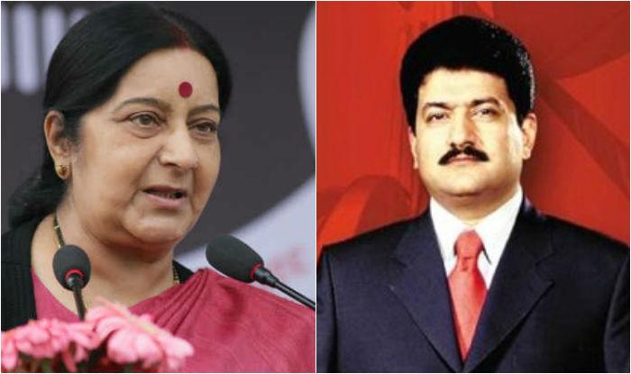 Sushma Swaraj has affair with Nawaz Sharif, comes to Pakistan to