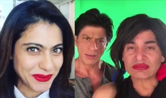Shah Rukh Khan & Kajol's dubsmash with 'Chutki' Gaurav Gera will tickle your nerves! Watch videos