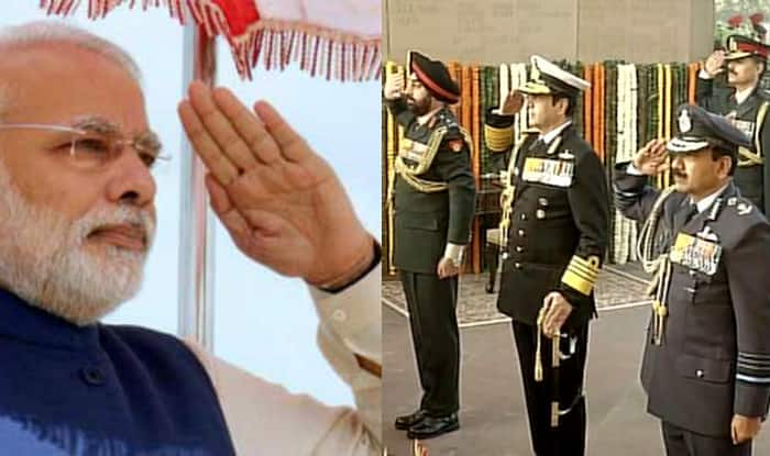Navy Day 2015: Narendra Modi wishes personnel; says India proud of strong and valiant Navy