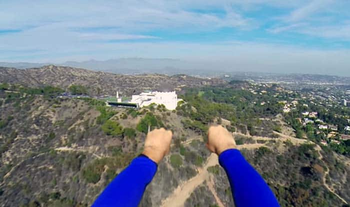 Superman with a GoPro makes one awesome video