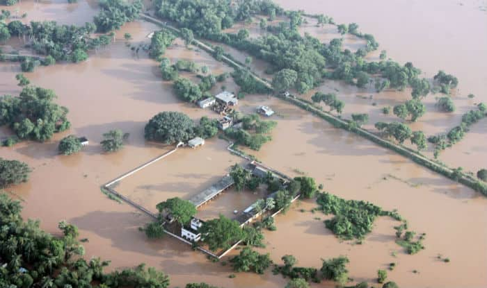 Flood relief disbursement for houses completed in 9 districts