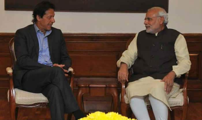 Imran Khan and PM Modi
