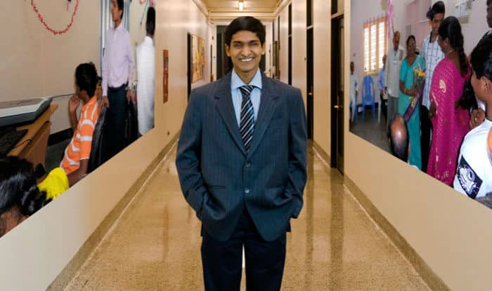 Blind student Srikant Bolla, rejected by IIT, gets admission to MIT & is now an entrepreneur!