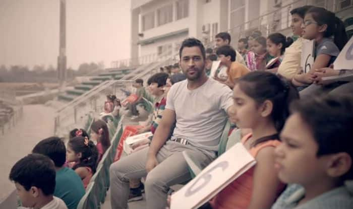 Presenting MS Dhoni not as a cricketer, but as a cricket fan