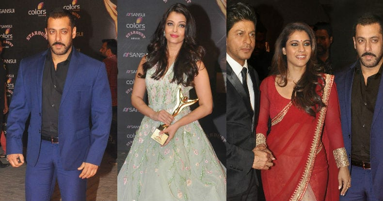 Sansui COLORS Stardust Awards 2015: Salman Khan, Aishwarya Rai Bachchan & list of other award winners