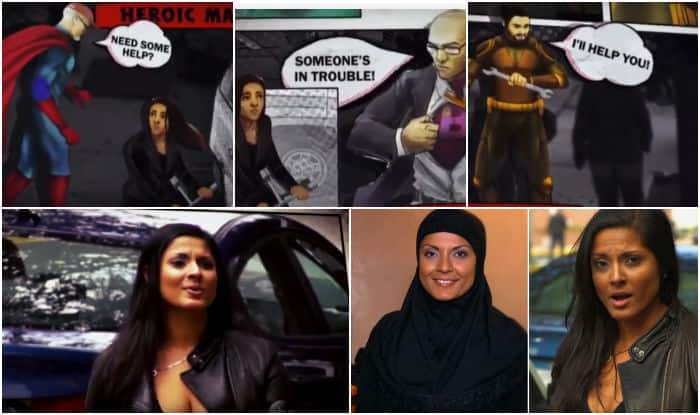 Muslim vs Non Muslim woman: Will you help a woman in leather jacket or a hijab to change her tyre?