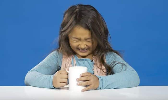 What happens when kids try coffee for the first time?