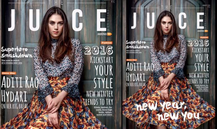 Coy Aditi Rao Hydari turns classy, young lady for Juice 2016 cover!