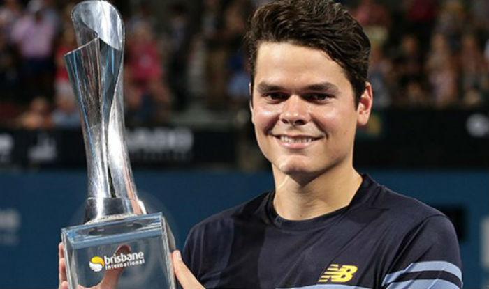 Milos Raonic stuns Roger Federer in Brisbane final