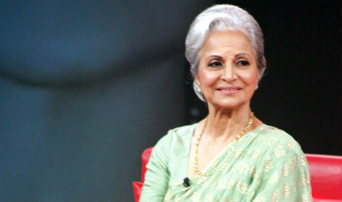 Veteran actress Waheeda Rehman honoured with special award