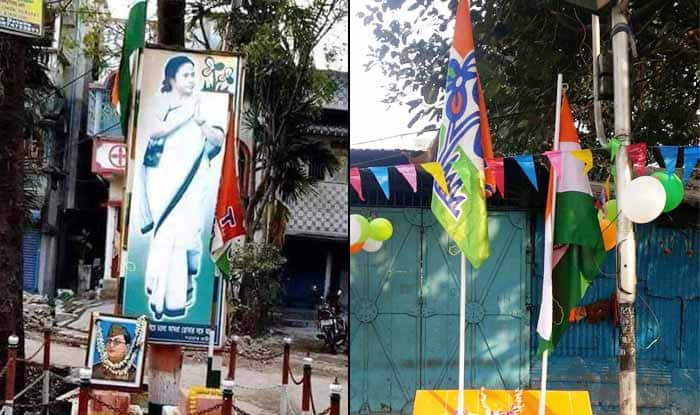 Trinamool Congress insults Indian national flag, gets trolled on twitter