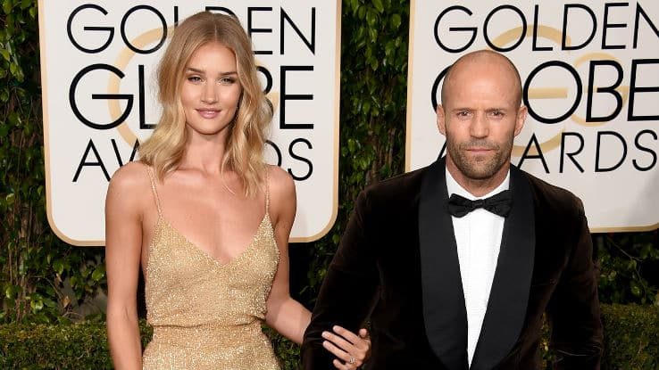 Jason Statham engaged to Rosie Huntington-whiteley