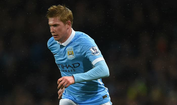 Manchester City hope injured de Kevin de Bruyne won't be out for season