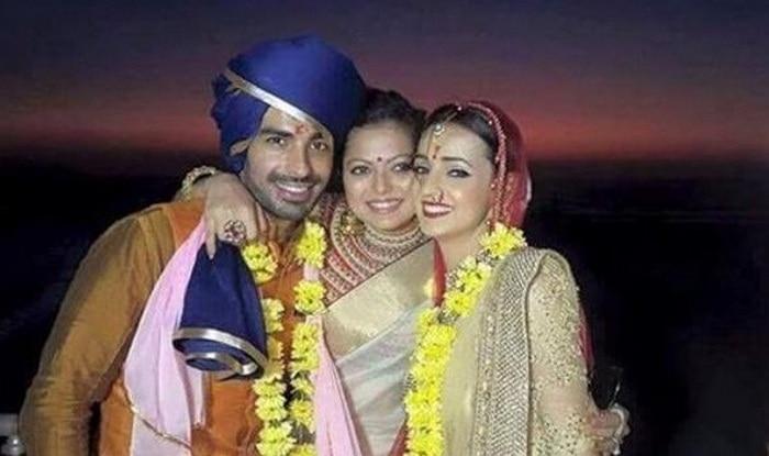 mohit sehgal and sanaya irani wedding 1