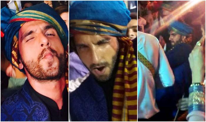 Watch Ranveer Singh's peppiest Ainvayi Ainvayi dance moves at friend's wedding