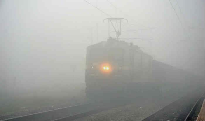Delhi Engulfed in Fog; 21 Trains Delayed Due to Low Visibility