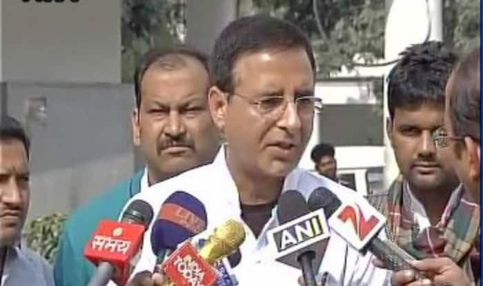 Was a 'slip-of-tongue', says Randeep Surjewala on 'Afzal Guru ji' comment