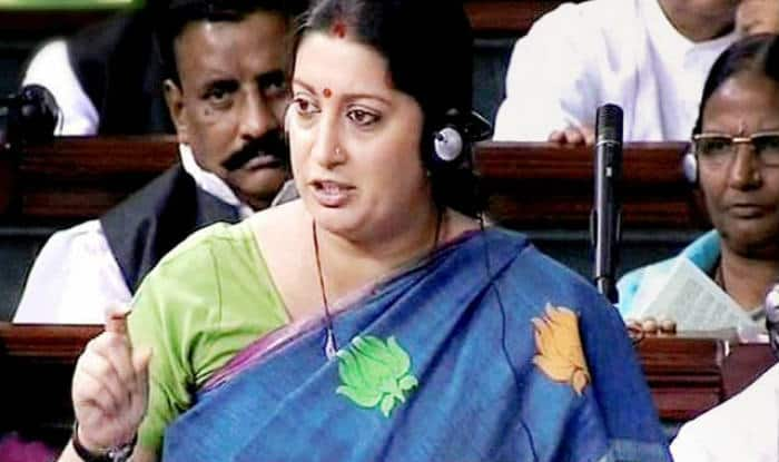 Emotional Smriti Irani delivers fiery speech in Lok Sabha, gives apt reply on Rohith Vemula's suicide, JNU (Watch video)