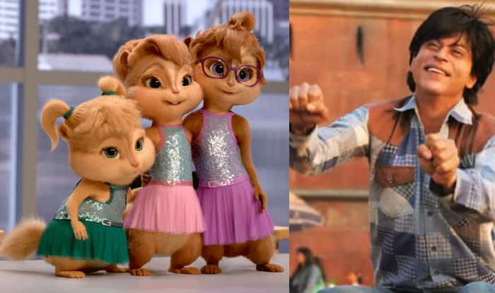 LOL! Watch how chipmunks sing and dance to Shah Rukh Khan's Jabra Fan song