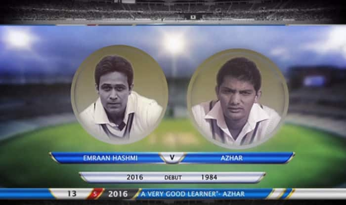 Making of Azhar: Emraan Hashmi & Mohammad Azharuddin cricket net practice session video unveiled ahead of movie trailer release