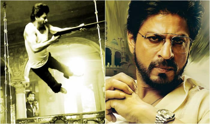 Shah Rukh Khan in Raees: Check out SRK perform dangerous stunts without safety!