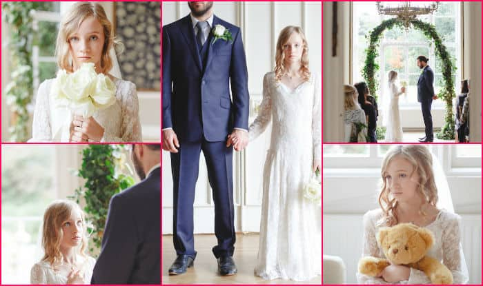 Not all weddings have happily ever afters! UNICEF child marriage storybook wedding video is a MUST watch
