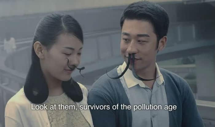 This Chinese ad is a sarcastic eye-opener on air pollution