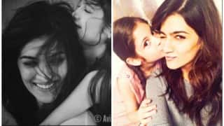 You just cannot take your eyes off Kriti Sanon & Harshaali Malhotra in these aww-dorably cute pictures!